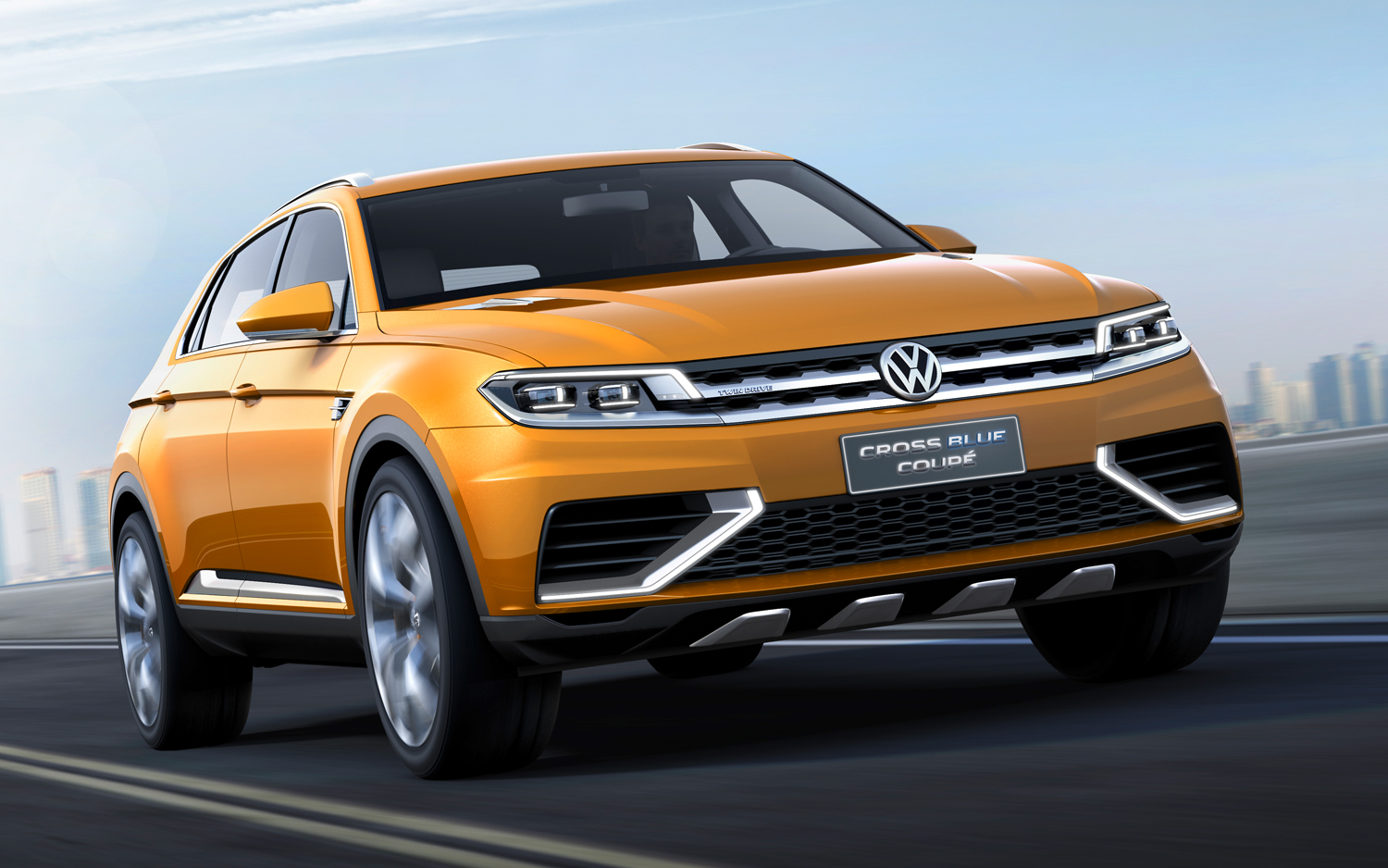 2013 Volkswagen CrossBlue Coupe